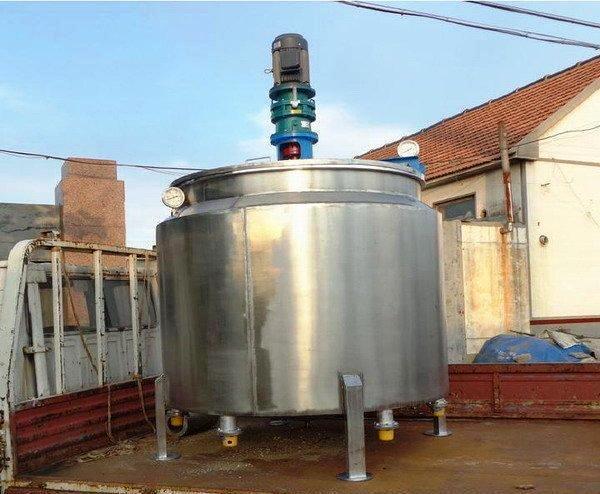 重庆20吨不锈钢搅拌罐