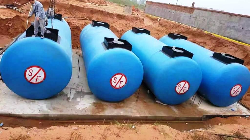 重庆加油站地埋双层油罐